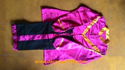 Jual Baju Celana Seragam Kuda Lumping (Jaranan) dan Kuda Kepang Standar Pentas