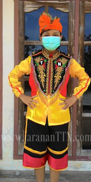 Model Penari Kuda Lumping Metenteng berani...memakai Udeng (Ikat Kepala) layaknya Mantili