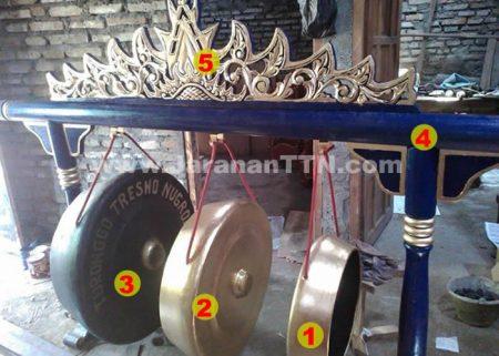 Seperangkat Gong Gamelan Kuda Lumping Campur Sari