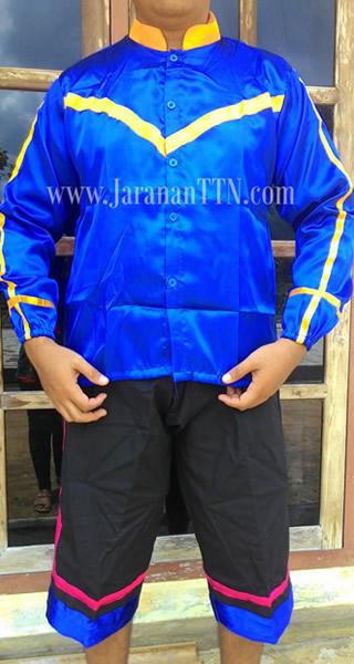 Baju Seragam Penari Kuda Lumping, terdiri Baju Lengan Panjang dan Celana Pendek