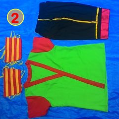 Jual Kostum Penari Kuda Lumping / Jaranan Model #2 Pendekar untuk Putra Dewasa