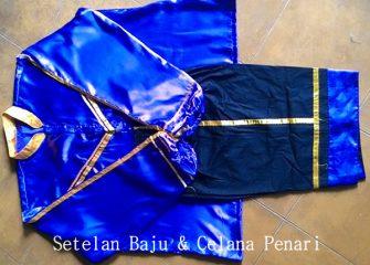 Jual Kostum Penari Kuda Lumping / Jaranan Model #1 Lengan Panjang untuk Putra Dewasa