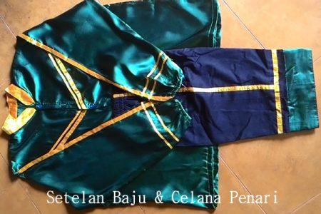 Setelan Kostum Kuda Lumping Jawa Timuran