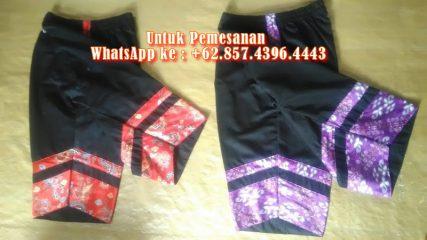 Celana Motif Batik untuk Penari Kuda Lumping/ Kudo Kepang / Jaranan