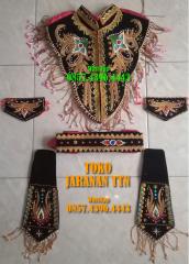 Aksessoris Sempyok Manggar Kace Kace untuk Penari Kuda Kepang / Jaran Kepang/ Jathil Reyog
